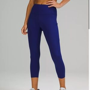 Lululemon Fast and Free HR crop 23 size 4